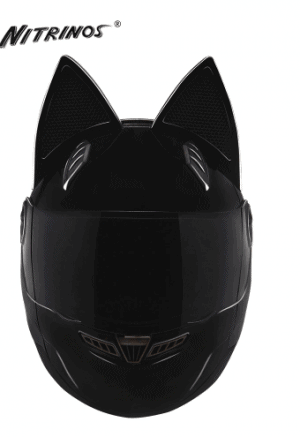 NITRINOS Motorcycle Helmet Women Full-Face